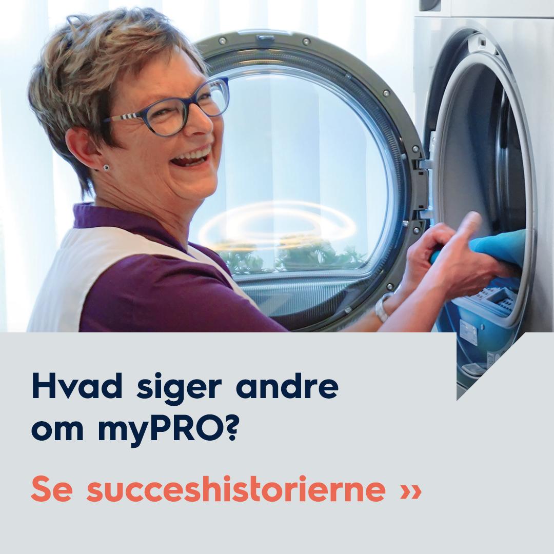 Hvad siger andre om myPRO – se succeshistorier
