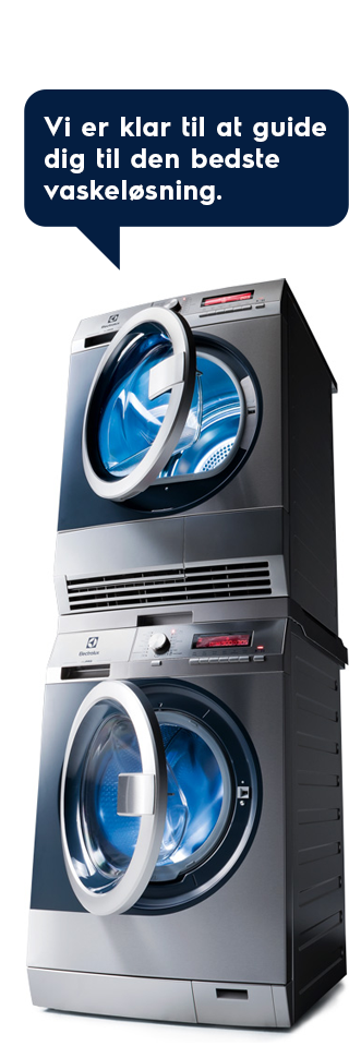 Vi er klar til at guide dig til den bedste vaskeløsning